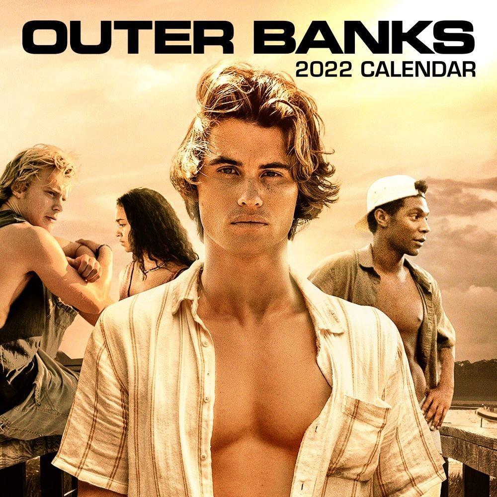 Outer Banks 16-Month September 2021-December 2022 Wall for Monthly Calendar September 2022