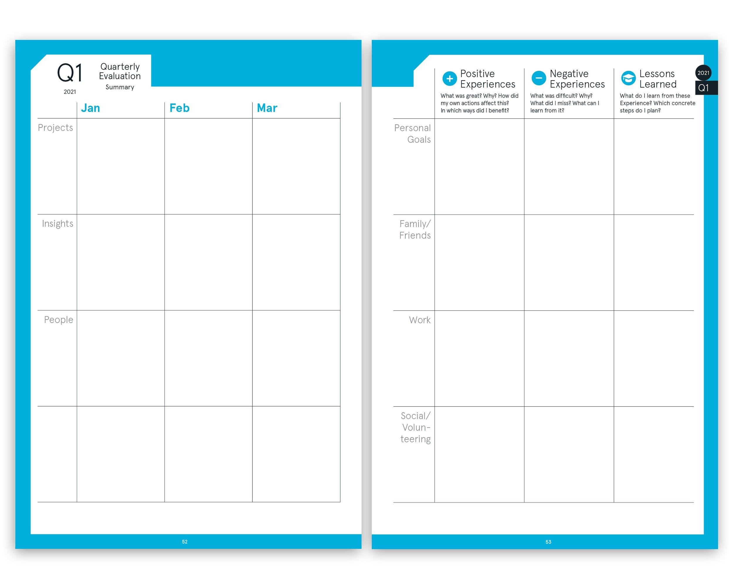 Pdf Printversion | Digital Planner | Business 2021 pertaining to Free Digital Planner Pdf Dowload