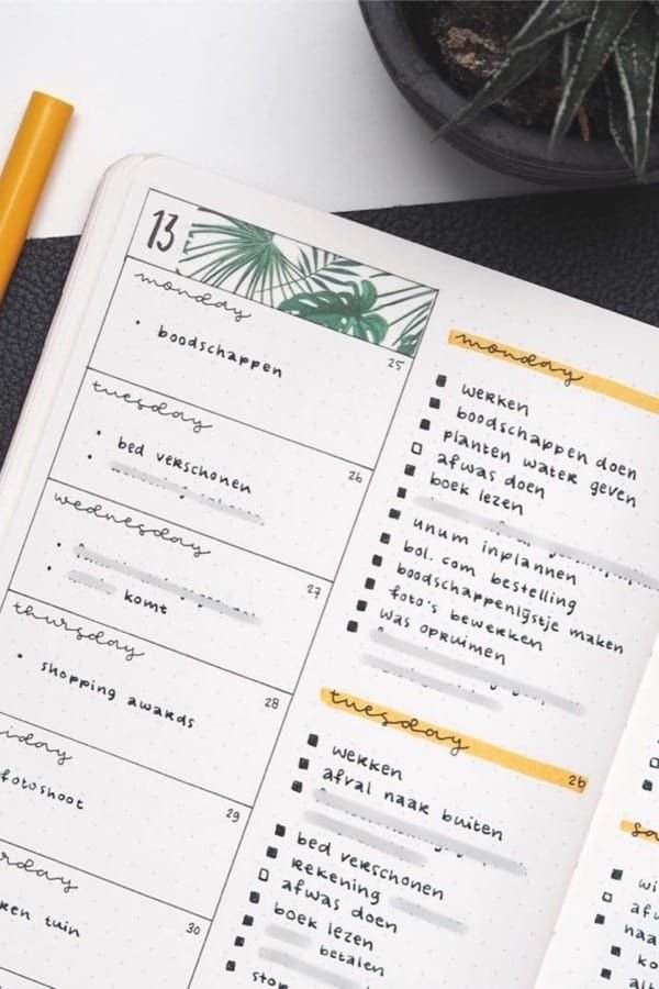 Pin On Bullet Journal Weekly Spreads   Ideas & Inspiration within April Bullet Journal Spread Ideas Graphics