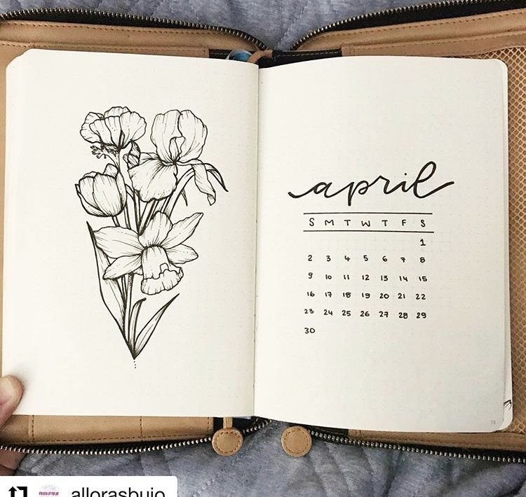Pinamanda Martino On Bullets Journal | Bullet Journal pertaining to Printable Bullet Journal April Cover Page