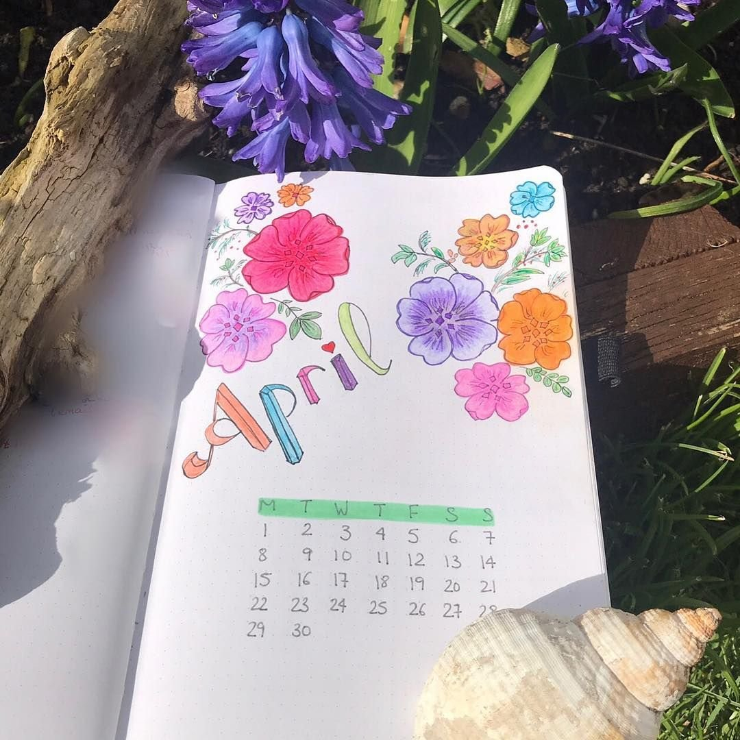Pintamás -It Starts With A Coffee On Bullet Journal intended for Printable Bullet Journal April Cover Page
