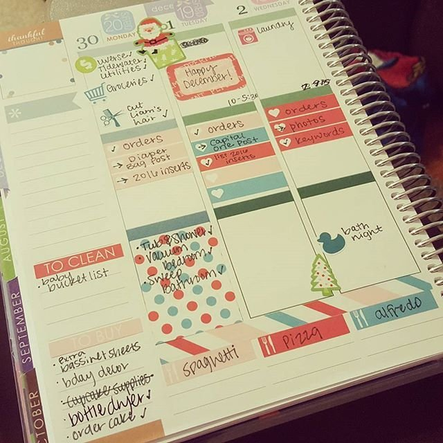 Plan With Me! How I Plan Using My Erin Condren Life intended for Where Can I Print My Own Planner