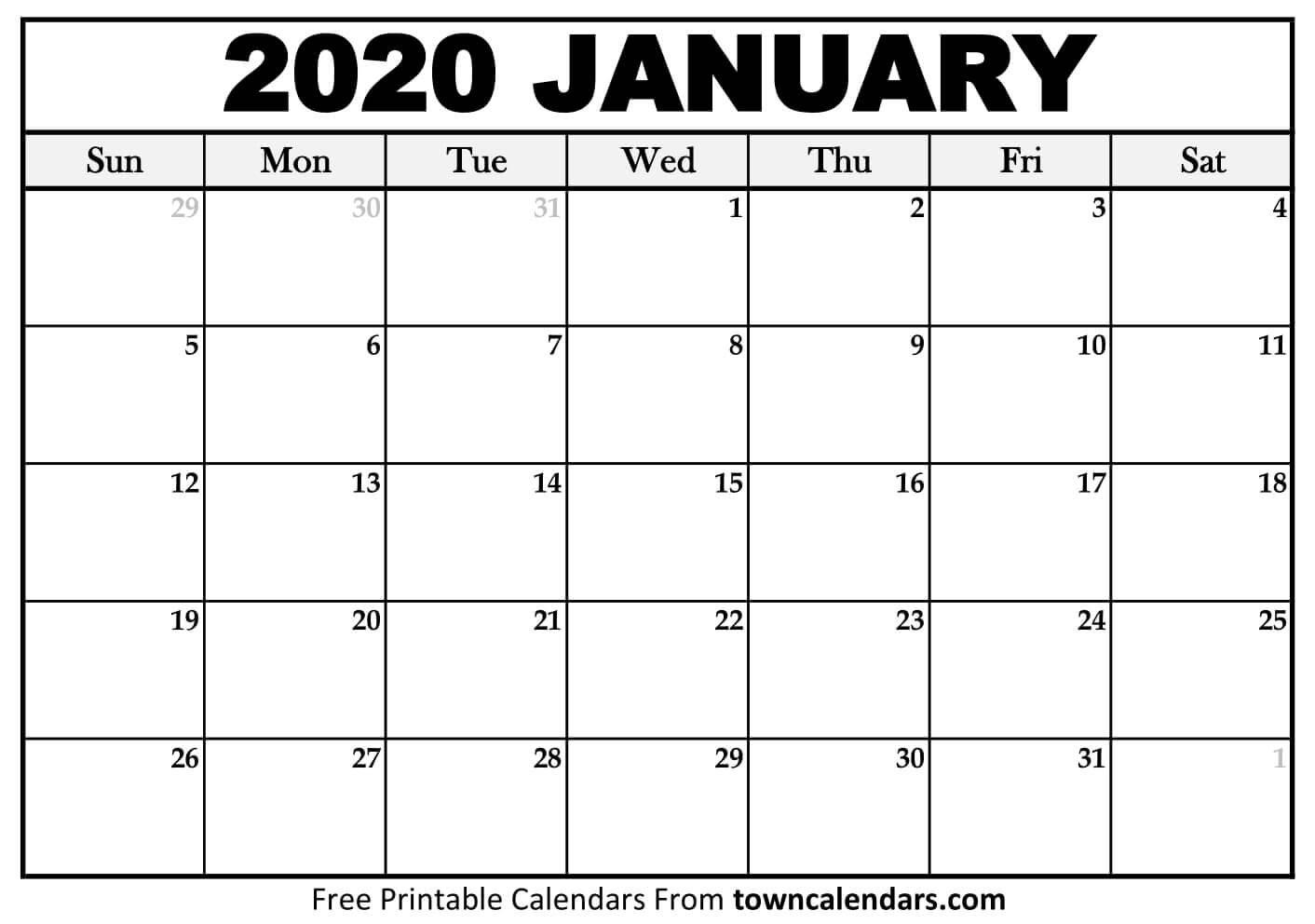 Print Calendar December 2020 And January 2020   Calendar intended for Free Printable December January Calendar Graphics