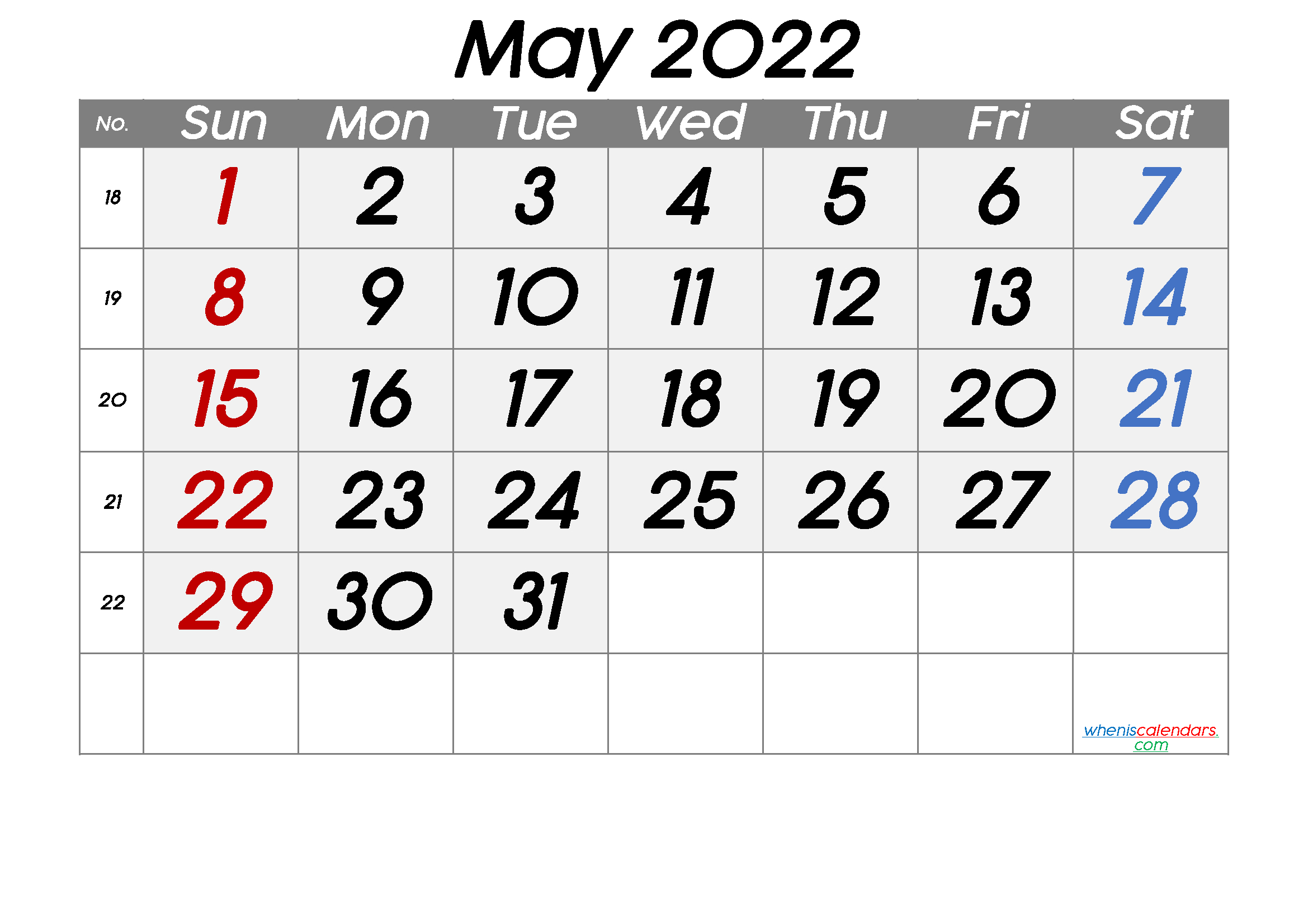 Printable Calendar 2022 May - Free Printable 2021 Monthly within Printable Day Planner 2022