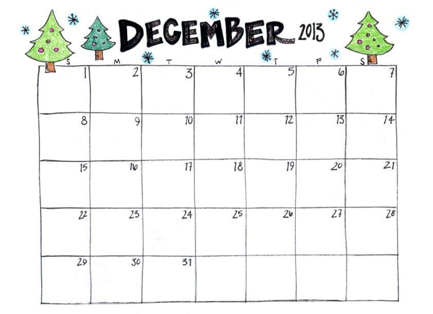 Printable December Calendars - Calendar Template 2021 pertaining to Free Printable December January Calendar Graphics