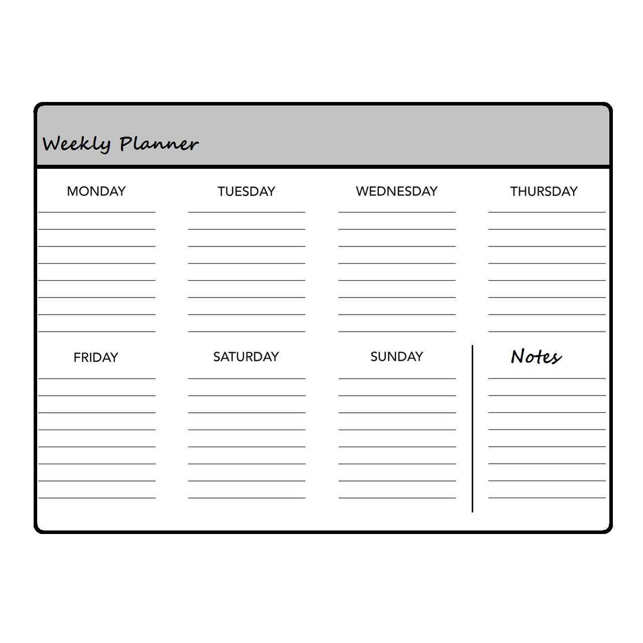 Printable Weekly Planners | Teaching Resources within Weekly Planner For Teachers