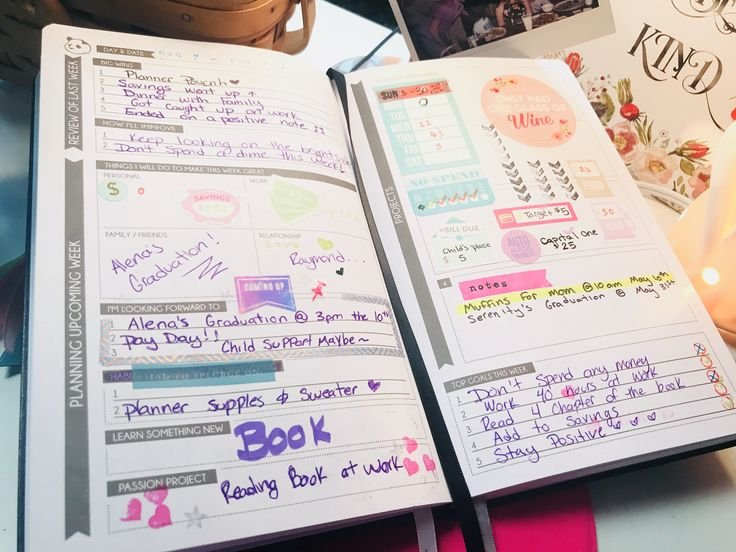 Second Week Of My Panda Planner!! I Am A Little More for Panda Planner How To Use Graphics