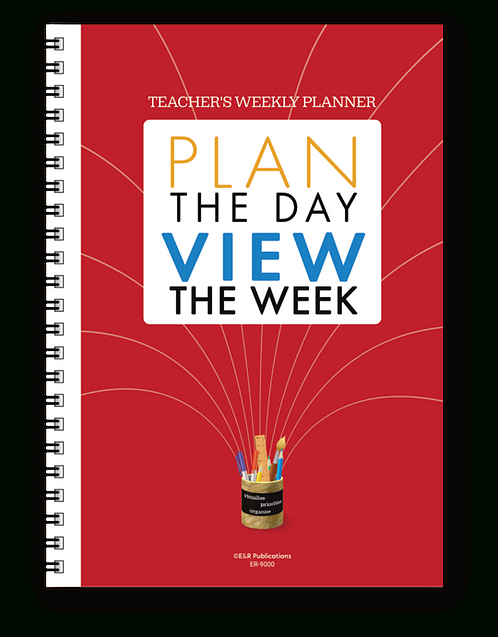 Teacher'S Weekly Planning Mate | Edaids within Weekly Planner For Teachers Image