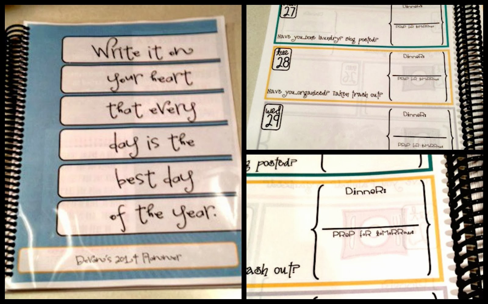 The Super Messy Supermommy: Personalized Planner. in Where Can I Print My Own Planner Graphics