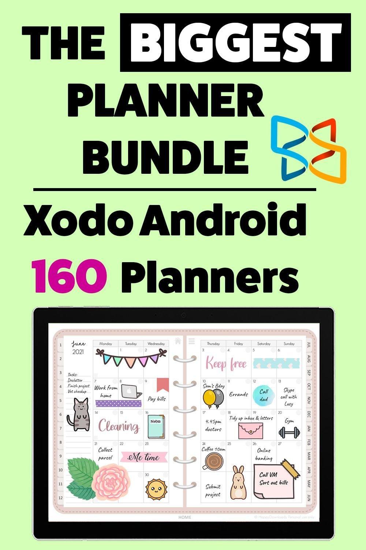 Xodo Digital Planner Mega Bundle 1000 Stickers Dated regarding Free Digital Numbers For Planners